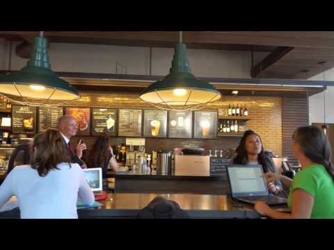Woman Screams At Governor Rick Scott At Starbucks