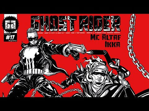 MC ALTAF - GHOST RIDER FT. IKKA | Prod. by AAKASH | Official Lyric Video