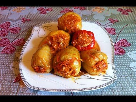 Вкусные перцы фаршированные мясом рецепт