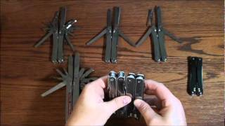Victorinox SwissTool & SwissTool Spirit Models - YouTube