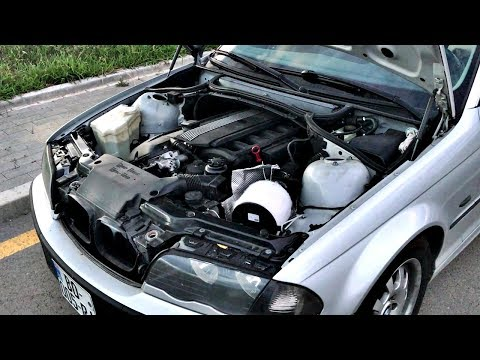 BMW 325i E46 Air Filter Sound