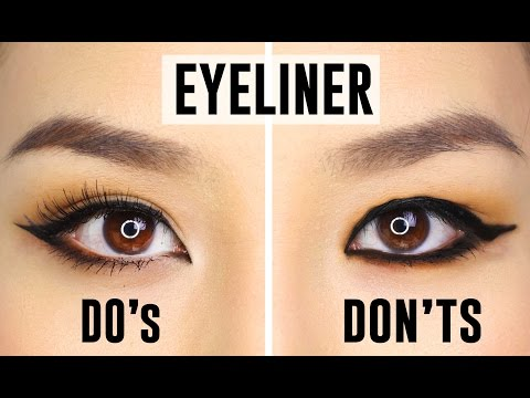 12 Common Eyeliner Mistakes You Could Be Making | Do's And Dont's