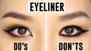 Video 12 COMMON EYELINER MISTAKES YOU COULD BE MAKING | Do's and Dont's MP3, 3GP, MP4, WEBM, AVI, FLV Mei 2019