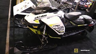 4. 2018 Ski Doo MXZ TNT 850 E-Tec Accessorized Sled - Walkaround - 2017 Toronto Snowmobile Show