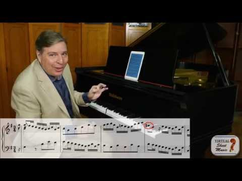 How to Play Bach's French Suites - Courante of the 5th Suite