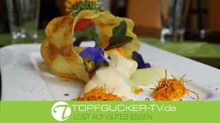 Krabatocchis | Karottenpüree | Kohlrabispalten | vegetarisches Rezept