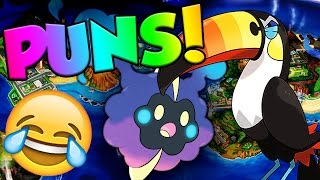 How many 7th Gen Pokemon Names Are Puns? by Verlisify