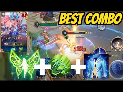 LINDIS BEST PRO COMBO FOR THE NEWEST PATCH (SOON) | AoV | 傳說對決 | RoV | Liên Quân Mobile