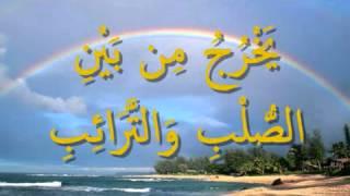 القرآن المعلم بصوت المنشاوي سورة  الطارق