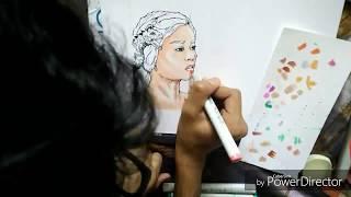 Daenerys targaryen : speed painting
