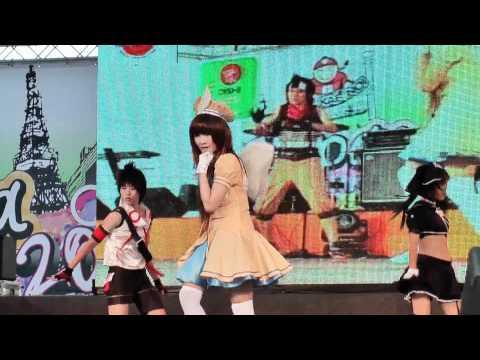 Cosplay Contest in Japan Festa in Bangkok 2010 Team 4:Pangya