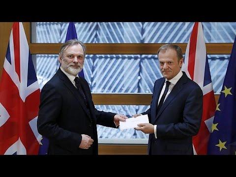 Ιστορική στιγμή: Ξεκίνησε το Brexit