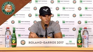 Rafael Nadal - Press Conference After SF - French Open 2017