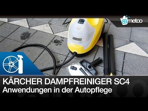 Kärcher Dampfreiniger SC 4 Autoreinigung – Innenraumreinigung – Motorraumreinigung - Lederreinigung