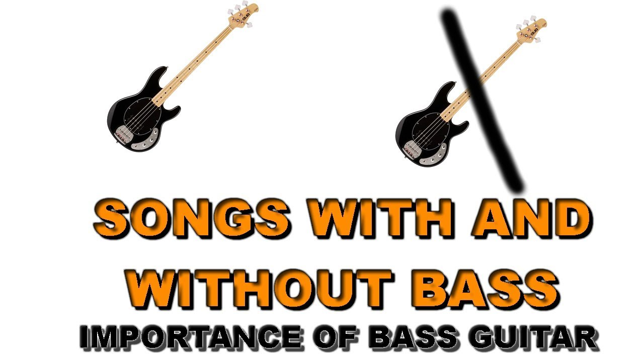 Songs with and without bass. The importance of bass guitar in metal music.