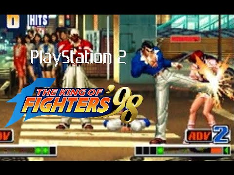 the king of fighters 98 playstation download