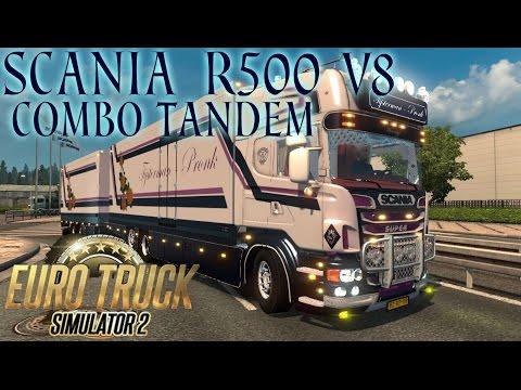 Scania R500 V8 Combo Tandem