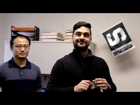 How scientists turned a flag into a loudspeaker