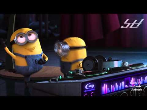 Despicable me: Minions Dropping The Beat - Animals by Martin Garrix