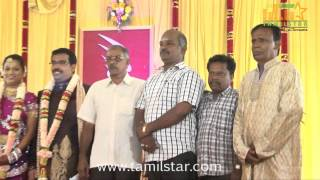 PRO Sankaralingam Son Wedding Reception