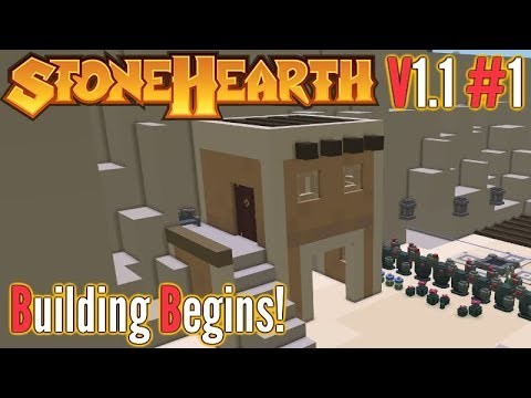 Stonehearth | Ep 1 | The Oasis Of Profits! | V1.1 Gameplay!