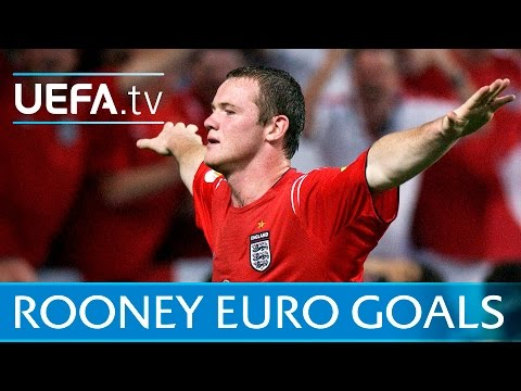 Wayne Rooney: Watch All Of His EURO Goals For England