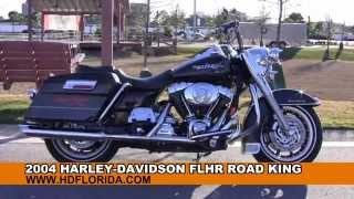 7. Used 2004 Harley Davidson Road King Motorcycles for sale in Alabama