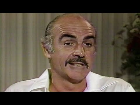 """Sean Connery on return as James Bond in """"Never Say Never Again"""" 1983"""