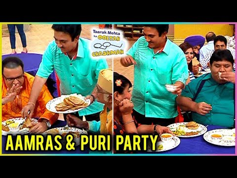 Jethalal Throws Aamras And Puri Party For Gokuldha