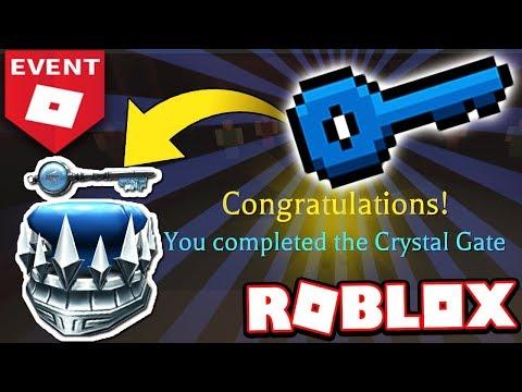 How To Get The Crystal Key Walkthrough Tutorial Roblox Ready