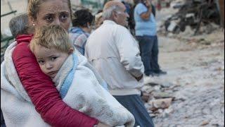Papa reza pelas vítimas do terremoto em Itália