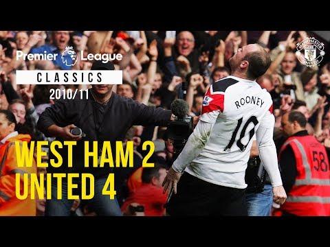 Classic Match: West Ham 2-4 Manchester United (2011)