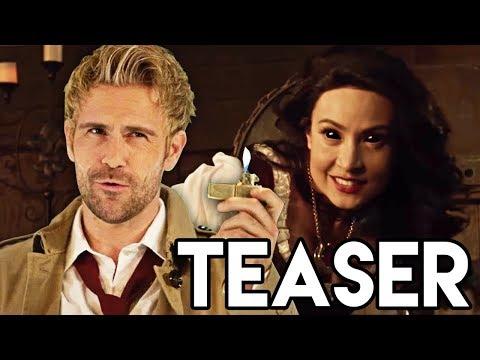 Constantine Crossover Teaser Breakdown - Legends of Tomorrow 3x10 & Constantine Season 2 Theory
