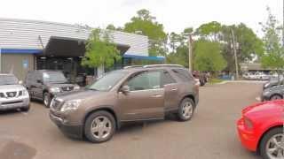 Autoline's 2008 GMC Acadia SLT Walk Around Review Test Drive
