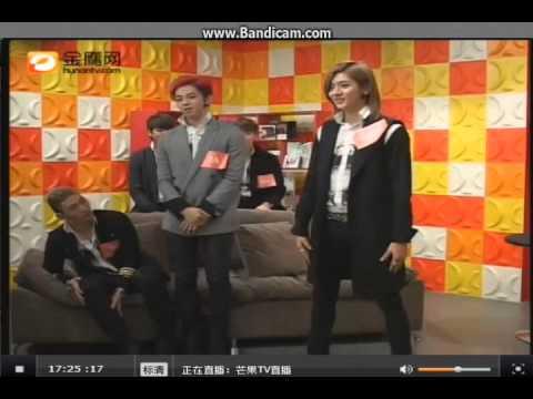 131203 NU'EST-M 金鹰网 Live Cut: Ren dancing Jolin Tsai's 舞娘 (видео)