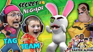Video HELLO NEIGHBOR gets TROLLED! EASTER ALPHA HIDE n SEEK Time! (FGTEEV plays Secret Neighbor #4) MP3, 3GP, MP4, WEBM, AVI, FLV Juni 2019