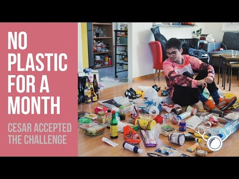 Guy gives up plastic for a month