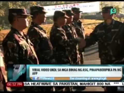 Video News@6: Viral video ukol sa mga bihag ng Abu Sayyaf Group, pinapaberipika pa ng AFP download in MP3, 3GP, MP4, WEBM, AVI, FLV January 2017