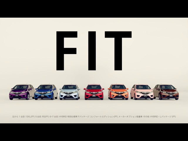 Honda Fit Japan AD 「 Let's do what I like」 15min version