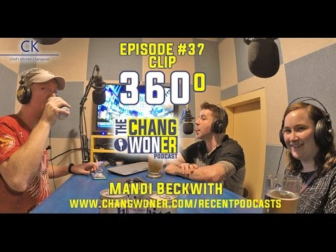 Episode 38 with Guest Mandi Beckwith, 360 Degree Video Clip
