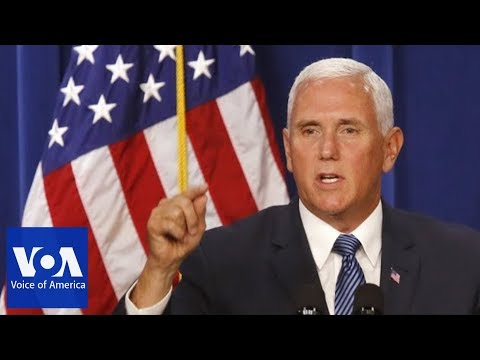 Vice President Mike Pences China Speech at Hudson Institute
