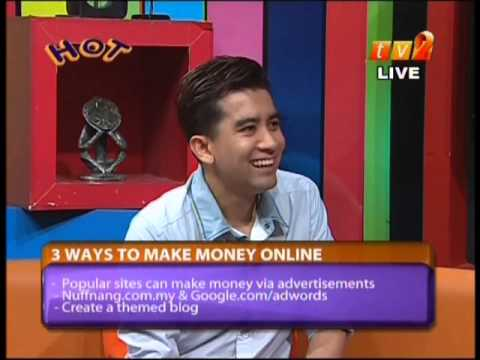 3 Ways to Make Money Online with Irfan Khairi – Internet Business Tips