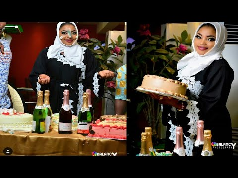 Jaruma Aisha Aliyu Tsamiya tana Murnar birthday dinta