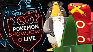 SIZZLIPEDE AND FARFETCH'D LASH OUT! Pokemon Sword and Shield! Little Cup Pokemon Showdown Live! by PokeaimMD