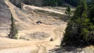 7. Can-Am Outlander 800 XTP 2013 & Arctic Cat 1000 2012 Hill Climb 2WD