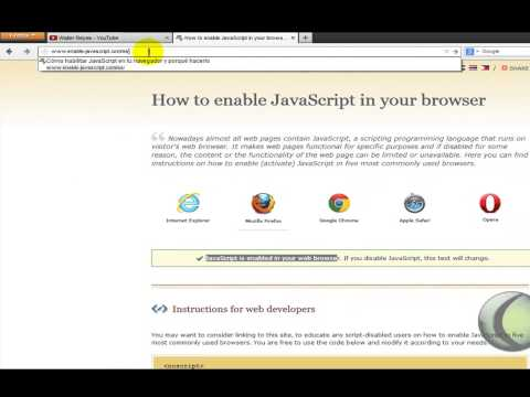 Activar/Desactivar JavaScript en Mozilla Firefox 23 – 24 – 25