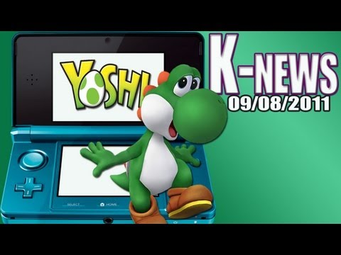 preview-NEWS: Nintendo 3DS 2nd Analog Stick plus Yoshi 3DS (Kwings)