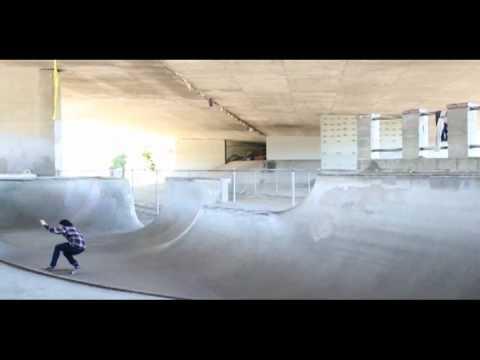 Sky Siljeg Tracker trucks Axis commerical Channel street skatepark california
