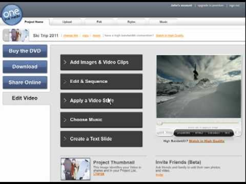 onetruemedia - Video overview of how to use One True Media to create and share video. The video demonstrates combining and clipping video and photos, adding in professional...