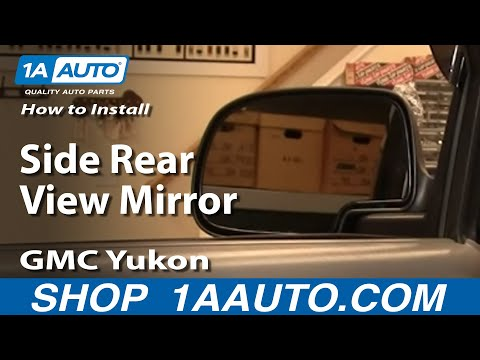How To Install Replace Side Rear View Mirror GMC Yukon Chevy Tahoe Avalanche 00-03 1AAuto.com